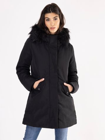 Ženska crna jakna