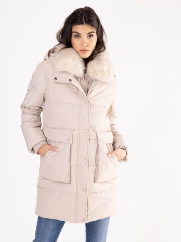 Zimska jakna u drap boji