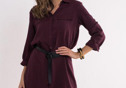 Viskozna haljina-košulja
