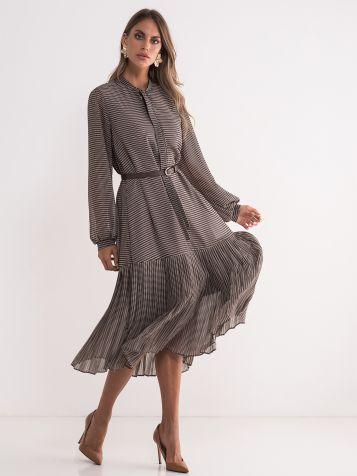 Lepršava poslovna haljina