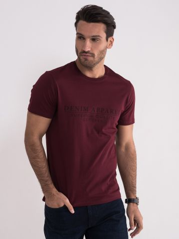 Bordo majica sa natpisom