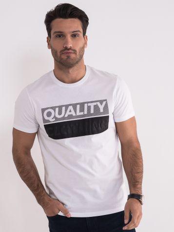 Pamučna bela majica