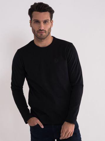 Crna majica dug rukav