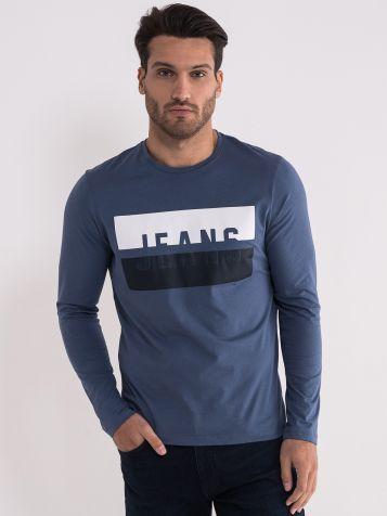 Pamučna plava majica