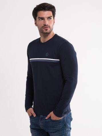 Muška majica u teget boji