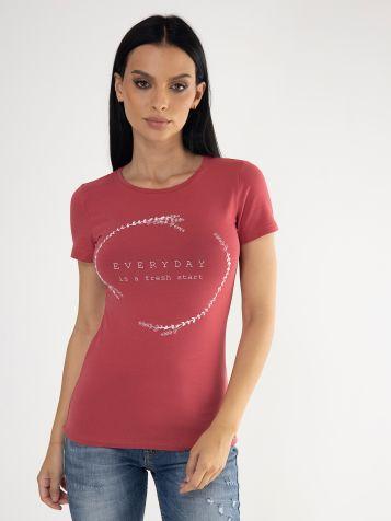 Ženska majica sa natpisom