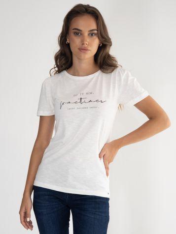 Ženska svetlo krem majica