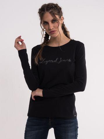 Crna Legend Jeans majica