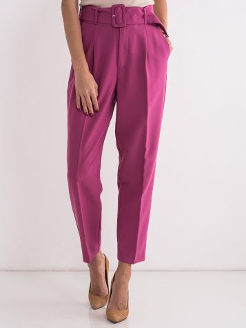 Elegantne ciklama pantalone