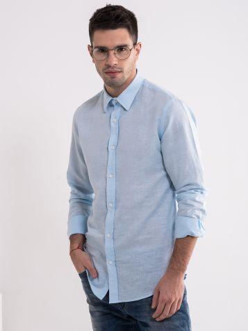 Klasična svetlo plava košulja