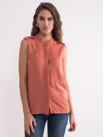 Elegantna bluza bez rukava