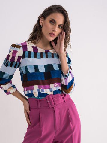Dezenirana elegantna bluza
