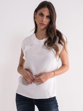 Bluza u beloj boji