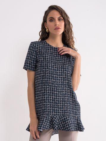 Elegantna bluza sa karnerom