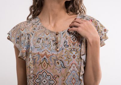 Ženska dezenirana bluza