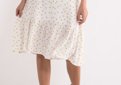 Tufnasta suknja sa karnerom