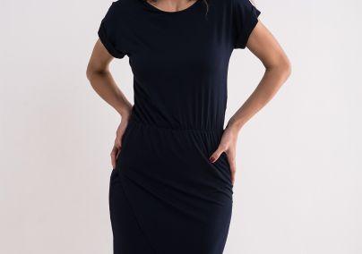 Jednostavna teget haljina