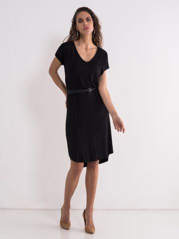 Crna basic haljina