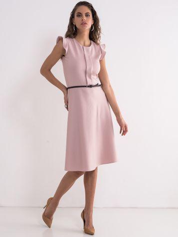 Puder roze elegantna haljina