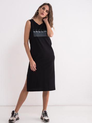 Crna casual haljina
