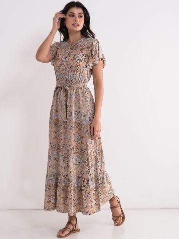 Duga dezenirana haljina