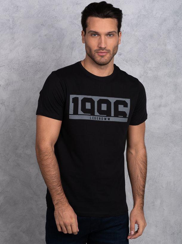Jednostavna crna majica