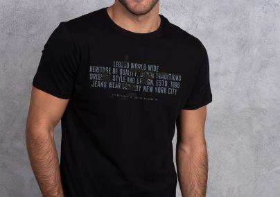 Crna muška majica