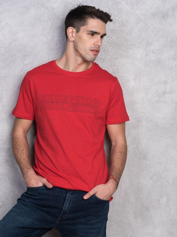 Muška crvena majica