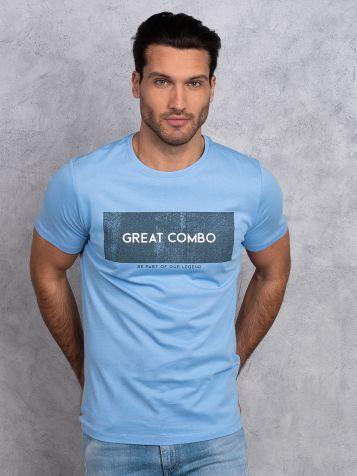 Plava casual majica