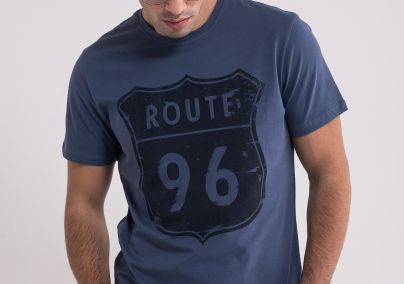 Denim plava majica
