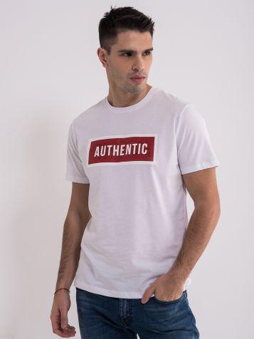 Bela authentic majica