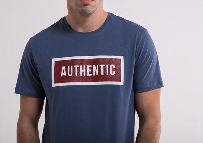 Plava authentic majica