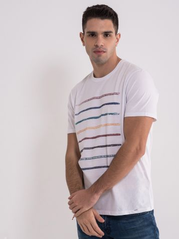 Casual bela muška majica