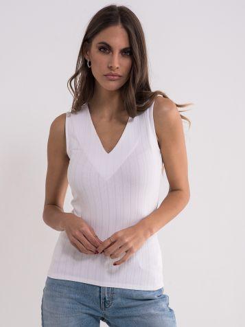 Bela jednostavna majica
