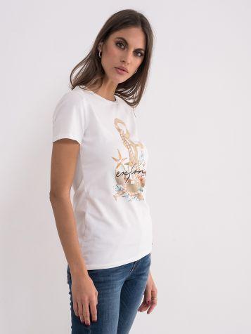 Letnja majica sa sidrom