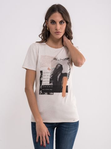Majica sa modernim printom