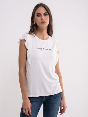 Majica sa karner detaljem