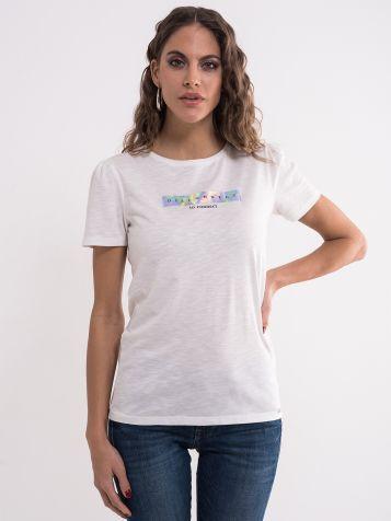 Majica sa hologram detaljem