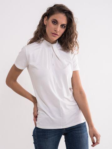 Bela elegantna majica