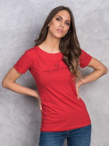 Ženska crvena majica