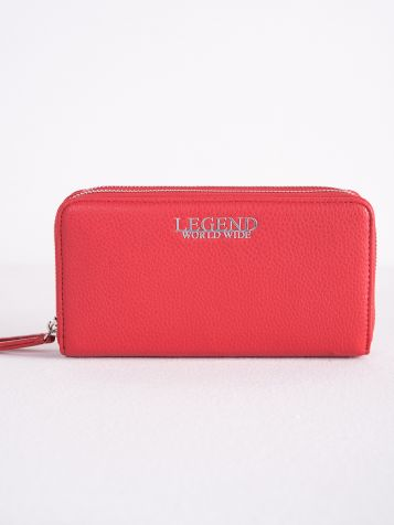Ženski crveni novčanik