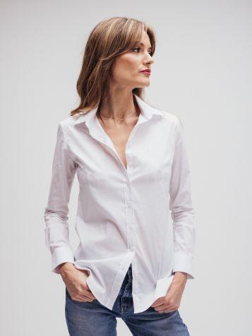 Ženska basic košulja bela