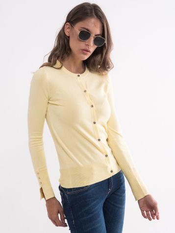 Basic džemper na kopčanje