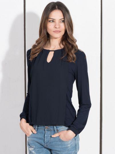 Teget ženska bluza