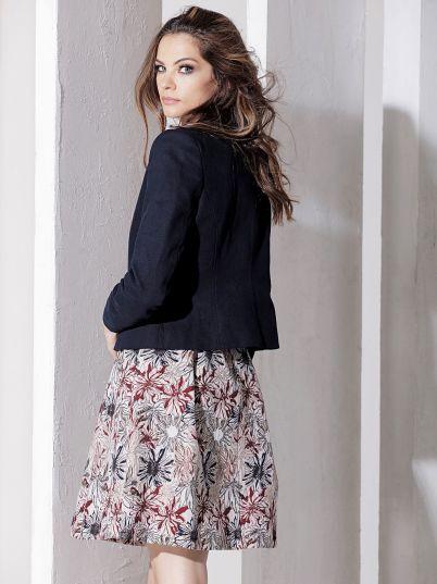 Teget ženska jakna