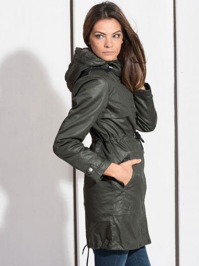 Zelena ženska jakna