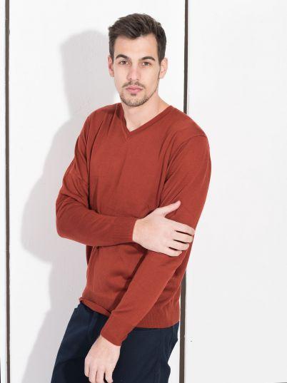 Muški džemper sa ranflom