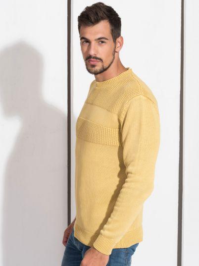Žuti muški džemper