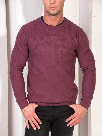 Jednobojan džemper