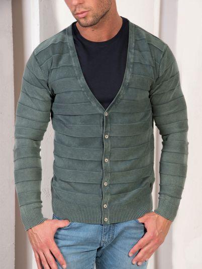 Zeleni muški džemper